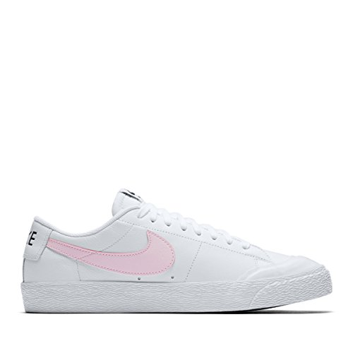 Nike Air Zoom Blazer Low XT Sneakers voor heren, roze wit, 45.5 EU