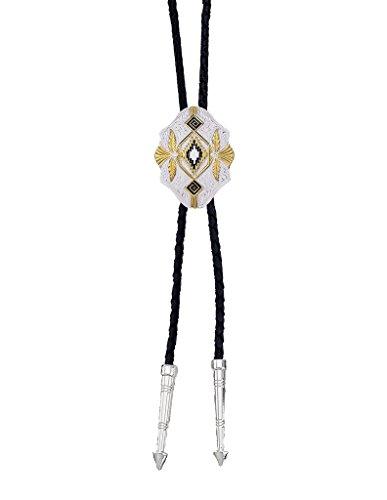 Montana Silversmiths Western Lifestyle Bolo Tie (Southwest Scalloped)
