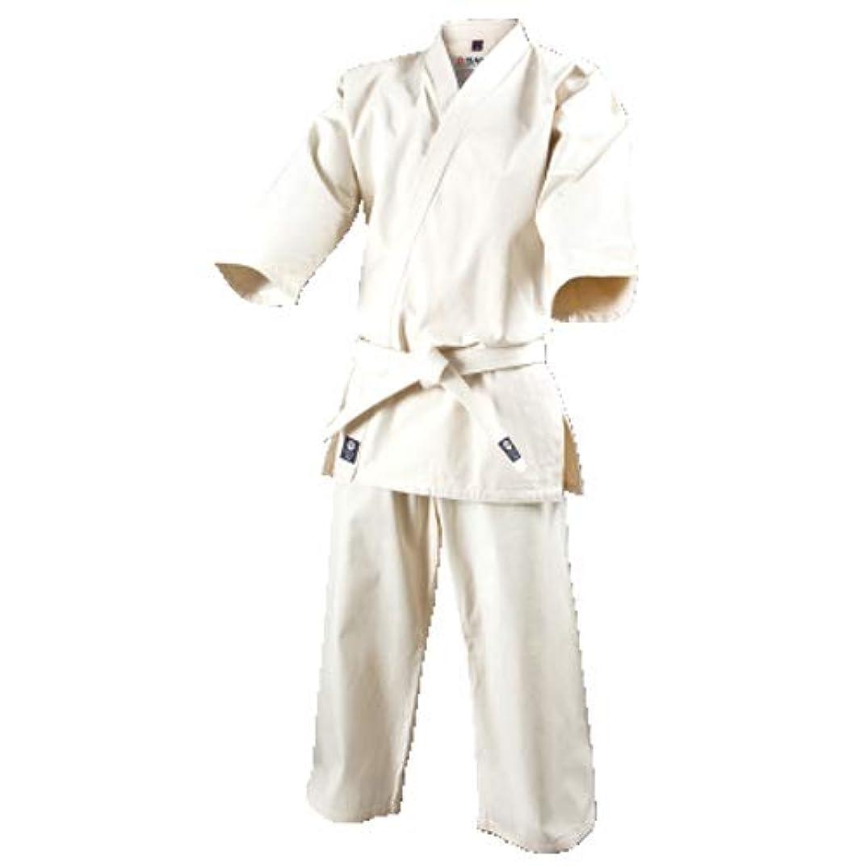 近代化連鎖聴衆ISAMI イサミ 入門用未晒 フルコンタクト空手衣 (上下帯付き) (K-15)