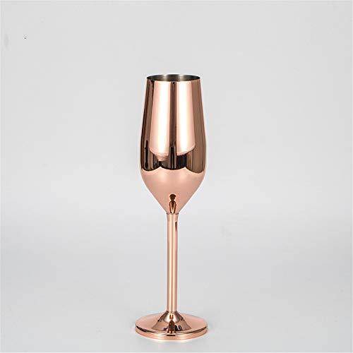 FMM New weinglas 304 edelstahlbeschichtung Gold hoch Champagner Glas bankett weinglas weinglas 200ml