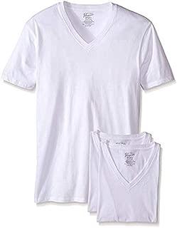 Men's Cotton V Neck T-Shirt, 3 Pack
