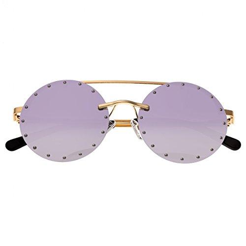 Bertha Damen Sonnenbrille, BRSBR031PU, Gold, BRSBR031PU