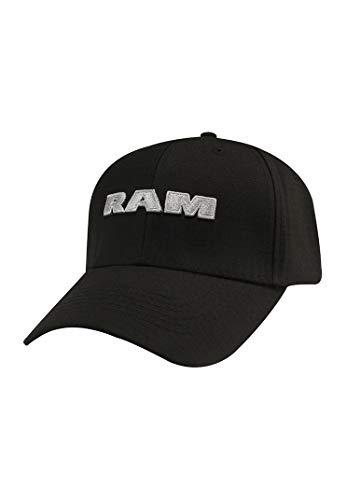 RAM 3D Cap Black
