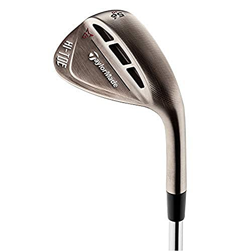 TaylorMade Milled Grind Hi Toe Raw Wedge Mens Right Hand Steel Stiff Standard Bounce 60.10 , Copper/Raw