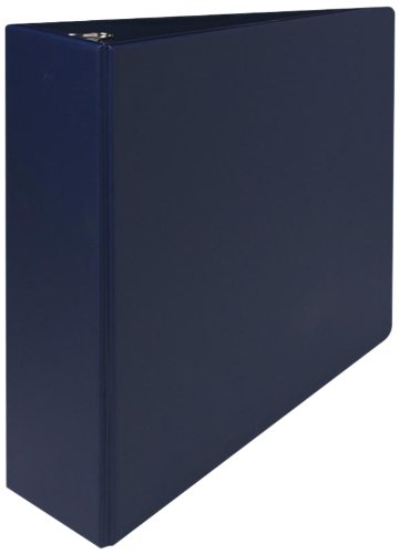 Sparco 3-Ring Binder with Sheet Lifters, 3-Inch Capacity, 11 x 8-1/2 Inches, Blue (SPR03601)