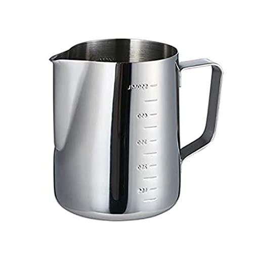Andifany Rostfreier Stahl Milch KKNnchen, Milch KKNnchen für Kaffee Maschine, Espresso Kaffee Tasse mit Maa, Milch Krug Krug, Latte Kunst