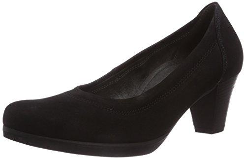 Gabor Shoes Damen Comfort Fashion Pumps, Schwarz (schwarz 47), 38.5