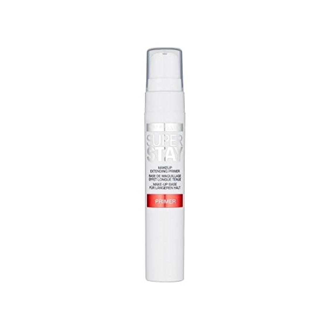 決定する人に関する限りレクリエーションメイベリン顔 24とプライマー x4 - Maybelline Face Superstay 24H Primer (Pack of 4) [並行輸入品]
