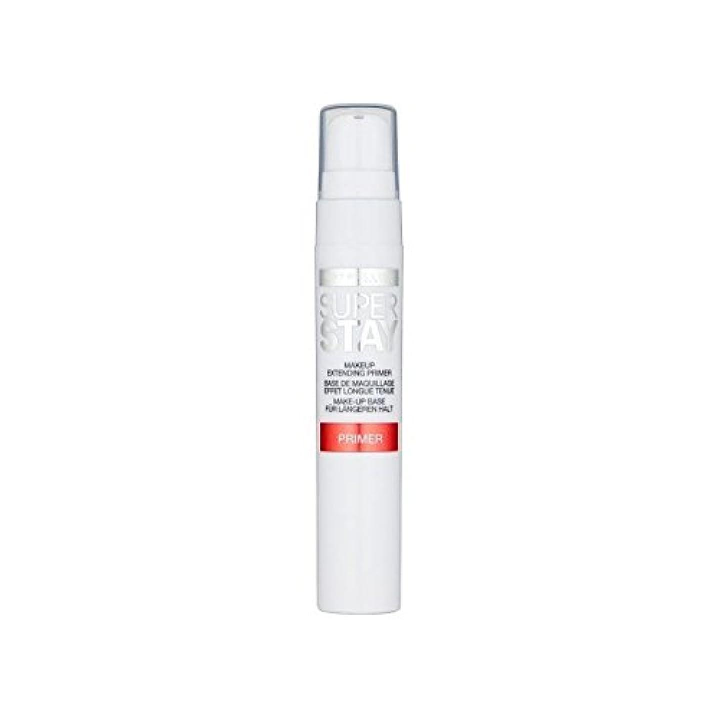 窒息させる週間不幸メイベリン顔 24とプライマー x2 - Maybelline Face Superstay 24H Primer (Pack of 2) [並行輸入品]