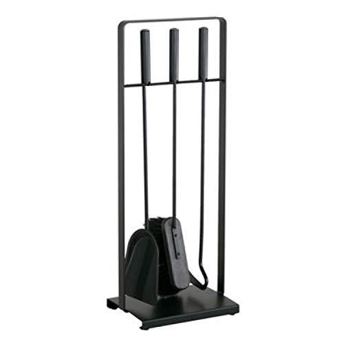 Heibi Kaminbesteck 52315-025 aus Stahl 3 teilig schwarz