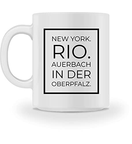 Generisch Auerbach in der Oberpfalz - Tasse -M-Weiß