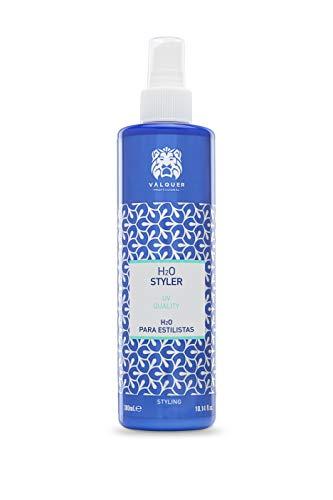 Valquer Profesional H2O Agua para Estilistas Calidad UV. Agua de Peinado con protección solar - 300 ml