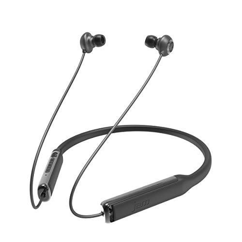 Jam Audio Contour  Bluetooth Headphones In-Ear Wireless Noise Cancelling Earbuds Sweat Resistant Comfort Collar for All Day Wear Hands-Free Calling  Up to 7hrs Play Time Battery Life - Black