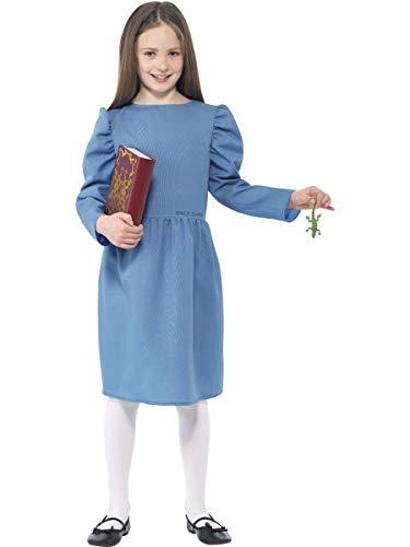 Disfraz de Matilda, de Roald Dahl, Smiffys 27144S, para nias (Talla pequea)