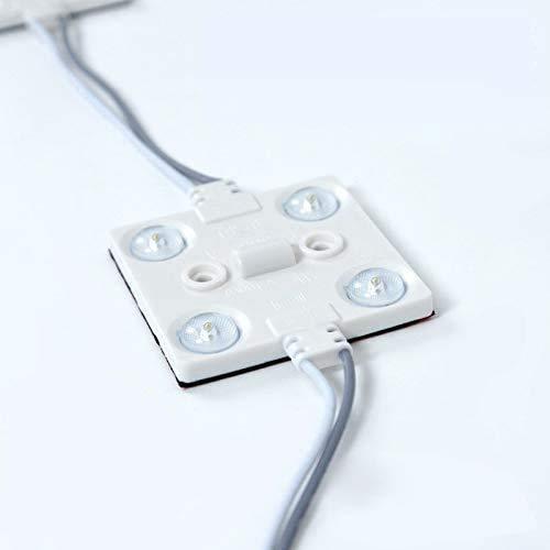 LEDモジュール(4灯タイプ)チャンネル専用100V 最大連結200個 省エネ 看板用ライト 照明機材(L-3D80A )