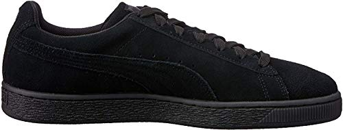 Puma - Suede Classic+ - Baskets mode - Mixte Adulte - Noir (black-dark shadow) - 41 EU