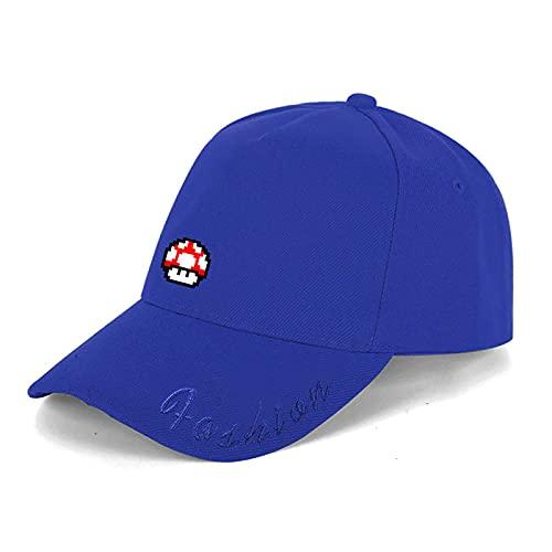 Sombrero de Super Mario Mario Super Mario Odyssey Game Peripheral Peak Hat Gorra de béisbol para hombres y mujeres Visera para el sol al aire libre