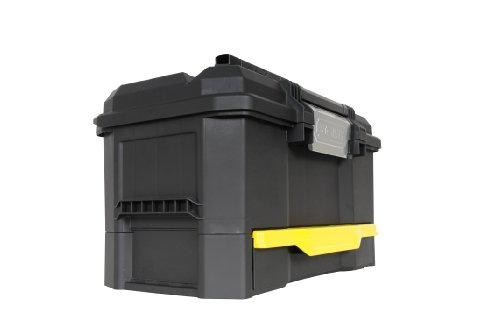 Stanley Werkzeugkiste leer aus Kunststoff 1-70-316 / Werkzeugkoffer mit integrierter Schublade für Kleinteile / Maße: 48.1 x 27.9 x 28.7 cm - 2