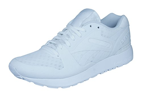 Reebok Classic GL 6000 Hm Zapatillas de Deporte para hombres/zapatos-White-40.5