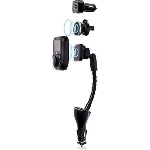 Renkforce RF-DAB-CAR1 DAB+ Empfänger Bluetooth Musikstreaming, Freisprechfunktion, Ladefunktion