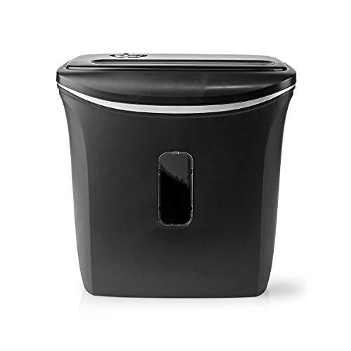 NEDIS Trituradora de Papel A4 | Capacidad de 12 litros | Seguridad DIN-P4