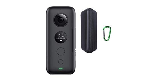 Insta360 ONE X 360 Action Camera + Hard Case (Official BrandCentric Hard Case Bundle)