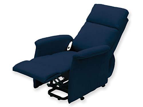 GIMA SILLÓN ELEVABLE ARIANNA 2 motores - Azul. Sillón con sistema de elevación motorizado. Alcanza la posición de la cama garantizando una sesión relajante.