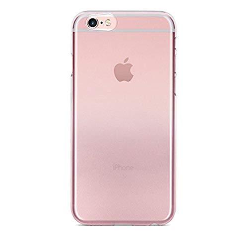 POWER SUPPORT AIR JACKET 2 Funda para iPhone 6/6s, carcasa de protección para iPhone, ligera y duradera, protección para teléfono celular contra golpes, salpicaduras, elegante, práctica, Rose Gold