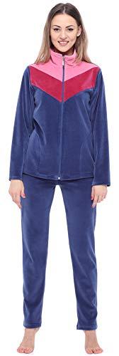 Merry Style Conjunto de Ch/ándal de Terciopelo Sudadera y Pantalones Largos Mujer