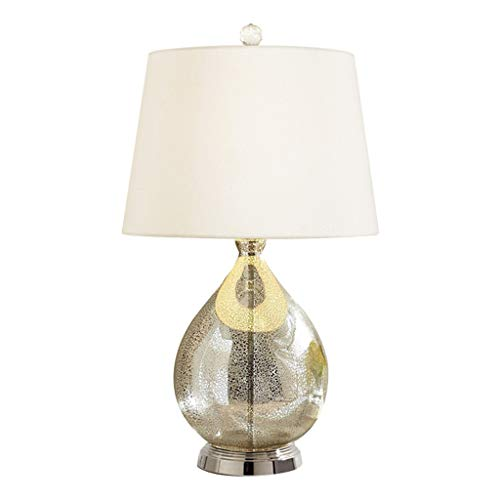 Lámpara de Cabecera Lámpara de mesa americana dormitorio mesita de noche moderna minimalista dormitorio sala de estar estudio interruptor de iluminación lámpara de mesa (4 colores) LLámpara de Noche
