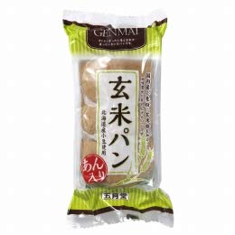 五月堂 玄米パン(あん入り 3個)×10個           JAN:4901754001502