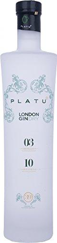 4. Ginebra gallega Platu Gin London Dry Gin