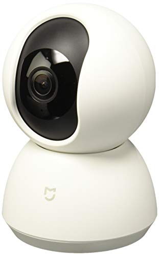 Xiaomi Mi Home Security Camera 360° Cámara de Seguridad IP Interior Bombilla Blanco - Cámara de vigilancia (Cámara de Seguridad IP, Interior, Bombilla, Blanco, Ceiling/Wall/Desk, 720p)