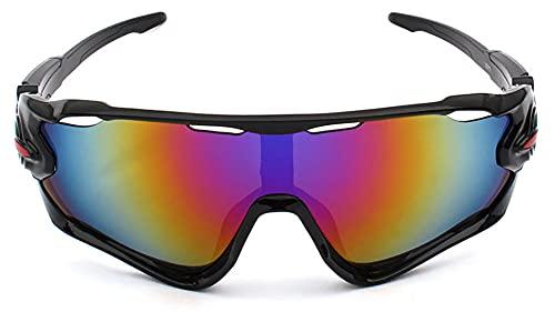 Longwu Occhiali da sole sportivi polarizzati, occhiali sportivi infrangibili con protezione UV 400, occhiali da sole sportivi per donne e uomini in ciclismo, corsa, golf, pesca
