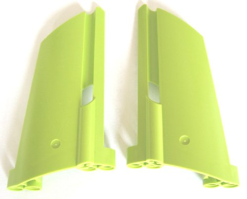 LEGO Technic - 1 Paar Kotflügel - Verkleidung - Flügel - Panel im seltenen hellgrün - Lime