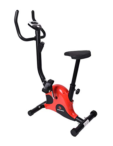 Endless EL001-01 4Kg Flywheel Upright Bike/Exercise Bike for Home Gym (Red/Black)