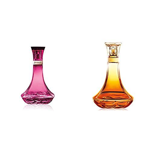 BEYONCE Heat Wild Orchid Eau de Parfum Fragrance for Women, 100 ml & Heat Rush Eau de Toilette Fragrance for Women, 100 ml