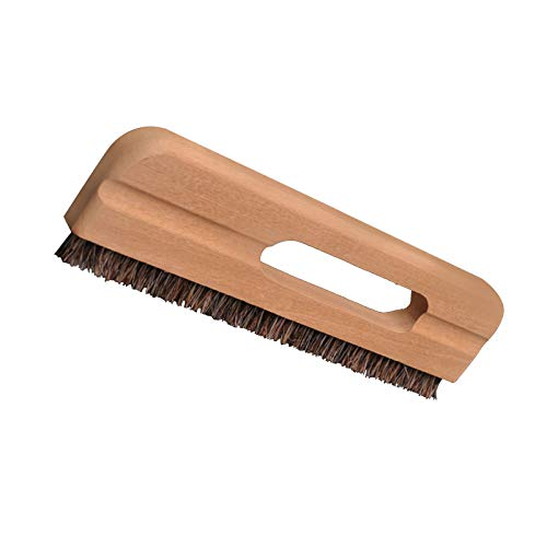 ZQO Cepillo para Papel Tapiz Pelo de Caballo Cepillo de Haya Grueso y denso Cepillo para Limpiar Papel Tapiz para Alisar el Papel Pintado