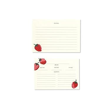 kate spade new york Recipe Card Refills - Strawberries