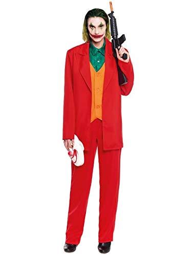 Partylandia Disfraz de Joker Smile Payaso - Hombre, L