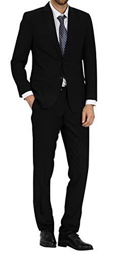 WEEN CHARM スーツ メンズ 上下セット ビジネススーツ 2点セット 2ツボタン 無地 スリム 結婚式 就職スーツ メンズスーツ フォーマルスーツ 防シワ オールシーズン