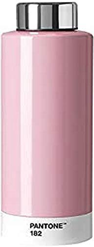 Pantone Trinkflasche, Edelstahl, Light Pink 182, 630 ml