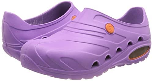 Oxypas oxyvaj4001lic Oxyva - Slip On SRC cómodo zuecos, 39/40 EU, Purple