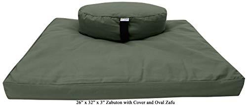 Bean Products Zafu and Zabuton Meditation Set
