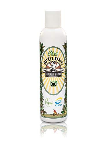 Après-shampoing Kastenbein & Bosch à l'huile de chia et d'argan - 100 % naturel, bio et vegan - Sans glycérine et sans parabène - Soin pour cheveux secs et abîmés - 200 ml