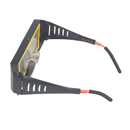 SDENSHI Corte Rectificado Soldadura Gafas Gafas Soldador Protección de Los Ojos Antideslumbrante - Amarillo