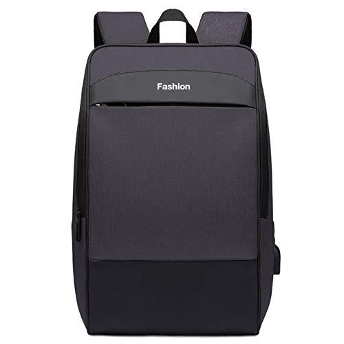 N/F Soild Color Travel Backpacks Back USB Charging Waterproof Laptop Men Backpack 17inch Male Schoolbag
