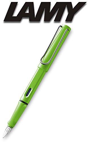 Lamy 1230634 safari Füllhalter Kunststoff Feder M, grün