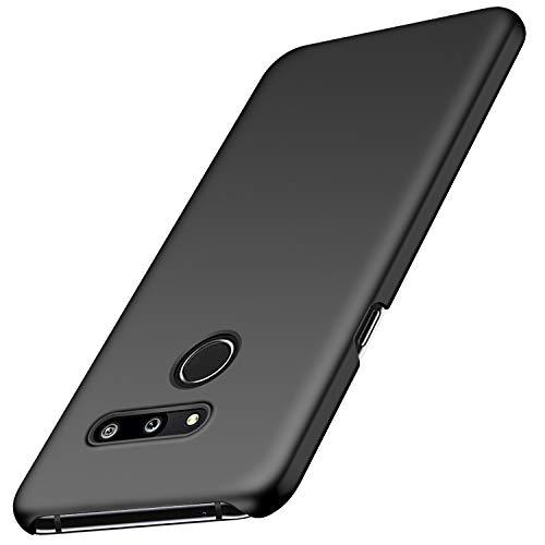 Avalri Funda LG G8 ThinQ, Diseño Minimalista Estuche Rígido Ultra Delgado de PC a Prueba de Golpes Resistente a Rasguños Cover para LG G8 ThinQ (Negro Liso)