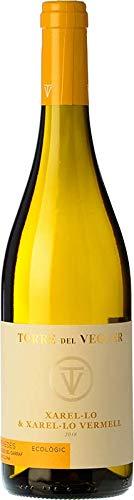 TORRE DEL VEGUER Xarel·lo – Vino Blanco Rojo, Producción y Vendimia Artesanal. Bodega Denominación de Origen Penedes. 75cl. Regalo original